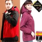 歐洲原裝~GORETEX二合一 兩件式高防水防風外套+厚刷外套(多色可選)【西班牙-戶外趣】