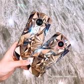 美圖T9手機殼M8s/m6防摔硅膠保護套鉆石菱形紋大理石【聚寶屋】