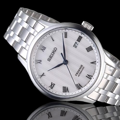 SEIKO精工 Presage 沉穩風格羅馬機械腕錶 4R35-02S0S SRPC79J1