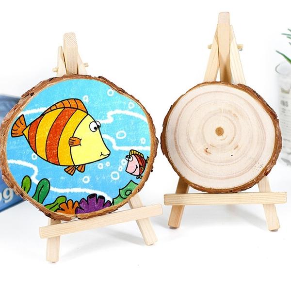 【BlueCat】天然原木片DIY材料 (大號) 拍照道具 手繪板 實木