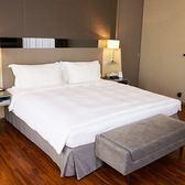 【法式寢飾花季】優雅生活-五星級飯店御用平紋床單X2件組(加大6x7尺)
