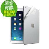《3C  王》iPad Air iPad Air 2 磨砂背膜背面保護貼透明霧面保護膜