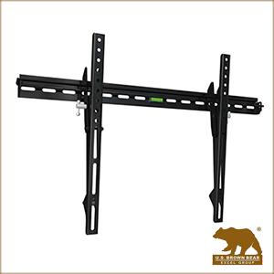 (限量出清)美國布朗熊 W9-60T 牆板傾斜式-適用37吋~60吋電視壁掛架