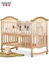 嬰兒床實木無漆寶寶bb搖籃多功能兒童新生兒可行動拼接大床  快速出貨