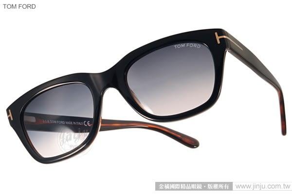 TOM FORD 太陽眼鏡 TOM0237 05B (黑-棕) 007丹尼爾克雷格電影配戴款 # 金橘眼鏡