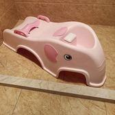 可折疊兒童洗頭躺椅寶寶洗頭椅小孩洗頭床加大號嬰兒洗髪架可坐躺『CR水晶鞋坊』YXS