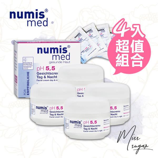 【Miss.Sugar】德國 Numis med 樂美思 PH5.5 極致修護凍齡霜 50ml (四入)