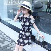 童裝女童吊帶連衣裙夏裝2018新款韓版小女孩洋氣兒童雪紡公主裙子