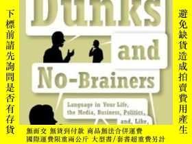 二手書博民逛書店Slam罕見Dunks And No-brainersY364682 Leslie Savan Knopf