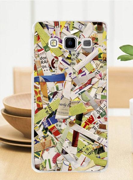 ♥ 俏魔女美人館 ♥ Samsung Galaxy J3 {碎紙}-水晶硬殼 手機殼 手機套 保護殼 保護套