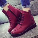 現貨 新款內增高女靴厚底楔形鞋休閒鞋女鞋...2色...流行線