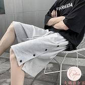 大碼運動短褲男韓版寬鬆五分褲夏季運動休閒短褲【大碼百分百】