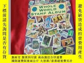二手書博民逛書店WHOLE罕見WORLD STAMP ALBUMY179070