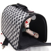 寵物包-好攜帶可摺疊貓狗肩背寵物外出提籠69b24【時尚巴黎】