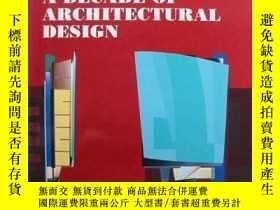 二手書博民逛書店A罕見Decade of Architectural Desig