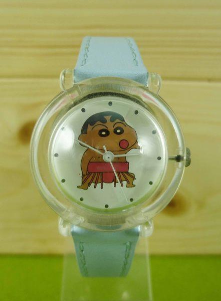 【震撼精品百貨】蠟筆小新~手錶~黑人