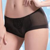 【摩奇X】胸托BRA系列M-LL中腰平口褲(神秘黑)(未滿2件恕無法出貨,不可退換貨)