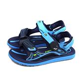G.P (GOLD PIGEON) 阿亮代言 涼鞋 防水 女鞋 藍色 G0769W-20 no449