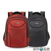 後背包 優質正品雙肩背包16-18寸加大容量商務電腦包男士休閒旅行包防水 城市玩家