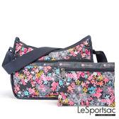 LeSportsac - Standard側背水餃包/流浪包-附化妝包 (你好!春天) 7520P F049