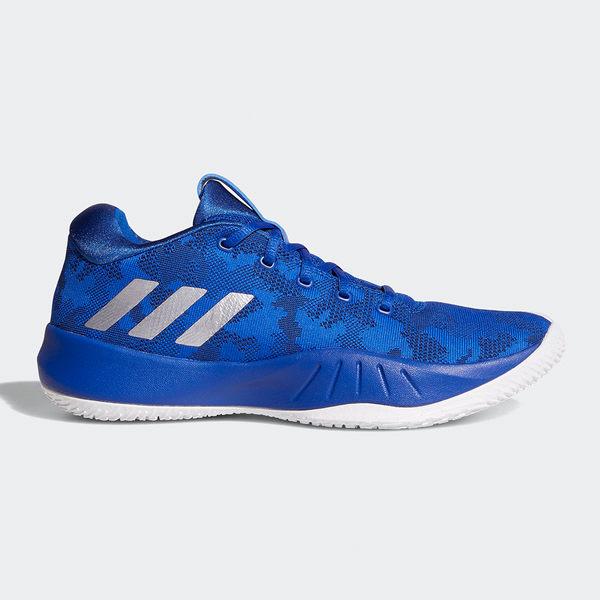 Adidas Nxt Lvl Spd 男 大童 藍 白 籃球鞋 低筒 經典籃球風格 Cloudfoam 休閒鞋 運動鞋 愛迪達 CQ0551