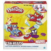 黏土 培樂多Play-Doh 創意DIY CAN-HEADS系列 Marvel漫威 英雄交通工具遊戲組 B0606