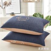 網紅枕頭枕芯一對裝枕頭學生宿舍床單人一只裝成人椎枕女   LN5043【東京衣社】