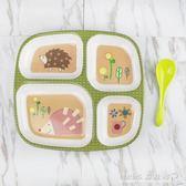 密胺材質兒童餐盤幼兒園餐盤卡通家用寶寶吃飯盤可愛飯盤環保餐具『CR水晶鞋坊』
