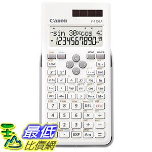 [東京直購] Canon 科學用計算機 F-715SA-WH SOB 函數計算 適合地政士 土木技師考試用