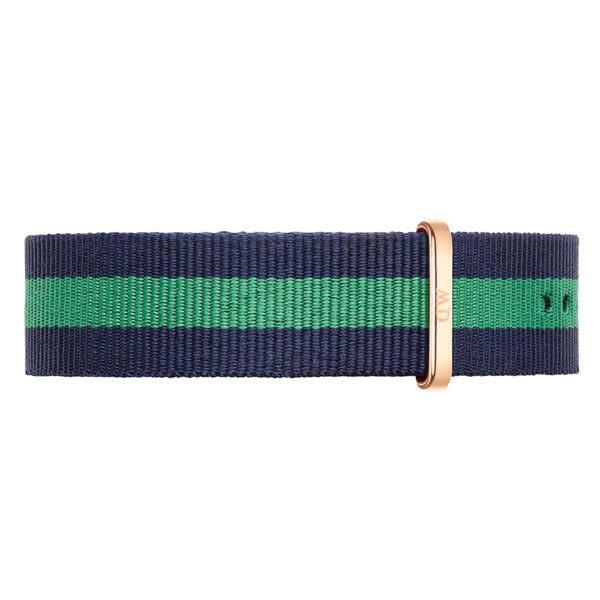 DW Daniel Wellington 藍綠帆布錶帶/20mm(0305DW)