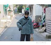 日繫羊羔毛棉服寬鬆外套冬女加厚學生新款 2色    東川崎町    YYS