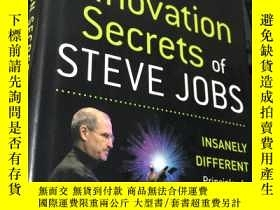 二手書博民逛書店The罕見Innovation Secrets of STEVE JOBS (精裝)Y5834 Carmine