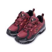 DIADORA 抗水越野慢跑鞋 紅 DA3112 女鞋 鞋全家福