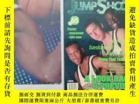 二手書博民逛書店JUMP罕見SHOOT 籃球刊物 65   98 (附海報)Y1