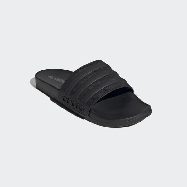 Adidas ADILETTE COMFORT 男款全黑拖鞋-NO.FW5337