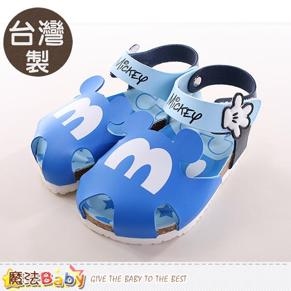 童鞋 台灣製迪士尼米奇正版專櫃款兒童涼鞋 魔法Baby