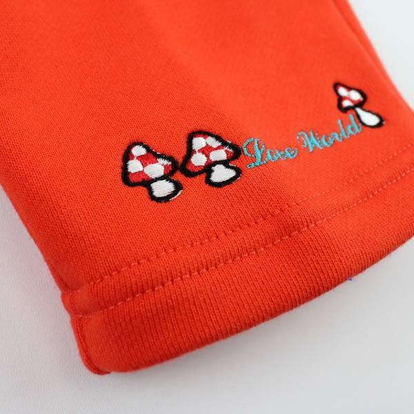 【愛的世界】純棉鬆緊帶俄羅斯娃娃長褲-紅/2~4歲-台灣製-n4 ★秋冬下著 禦寒推薦