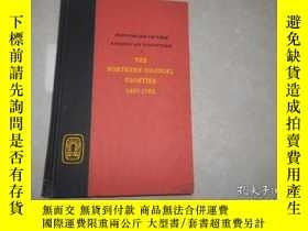 二手書博民逛書店THE罕見NORTHERN COLONIAL FRONTIER