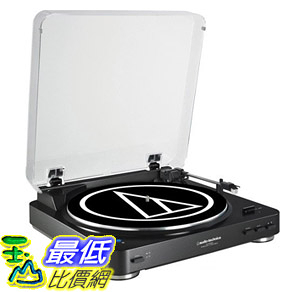 [107美國直購] Audio Technica AT-LP60BK-BT Fully Automatic Bluetooth Wireless Belt-Drive Stereo Turntable