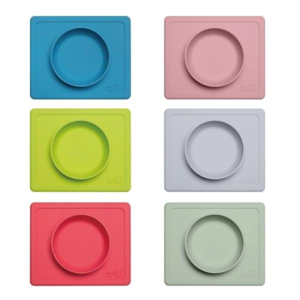 美國 EZPZ MINI BOWL快樂防滑餐碗/餐具/安全/無毒/矽膠(6色可選)