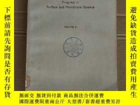 二手書博民逛書店progress罕見in surface and membrane science volume 9 (P1849
