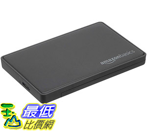 [8美國直購] 行動硬碟儲存盒 AmazonBasics 2.5-inches SATA HDD or SSD Hard Drive Enclosure - USB 3.0