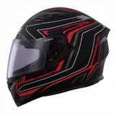 【東門城】SBK 速百克 RADER 雷達(黑紅) 全罩式安全帽 雙鏡片