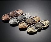 【289元】第三代鋅合金十字軍指尖陀螺 盾牌造型凱薩系列 復古銅色 手指陀螺緩解焦慮玩具高轉速