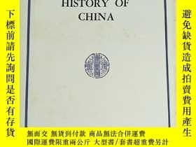二手書博民逛書店AN罕見INTELLECTUAL HISTORY OF CHIN