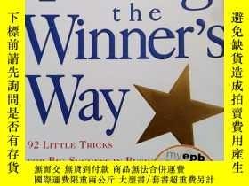 二手書博民逛書店Talking罕見the Winner's way (英文原版