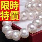 珍珠項鍊母親節禮物首飾柔美焦點-創意知性迷人情人節禮物飾品53pe2【巴黎精品】