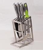 不銹鋼防黴刀架刀座家用廚房用品刀具架置物架廚具收納架菜刀架子 潮流衣舍