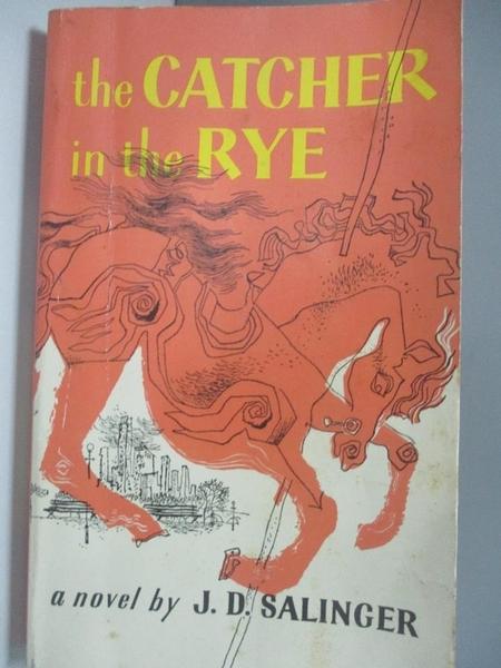 【書寶二手書T6/原文小說_AMF】The Catcher in the Rye_Salinger