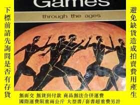 二手書博民逛書店The罕見Olympic Games through the a